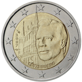 Luxemburg 2 Euro UNC Grand Ducal Palace 2007