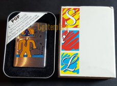 ZB000200SEL599 Zippo Keith Haring TV MAN Playboy Pop Collection
