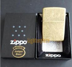 Zippo Regular Antique Brass