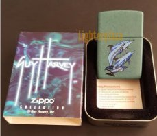 Zippo Spotted Dolphin Guy Harvey Design