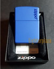 Zippo Royal Blue with Logo