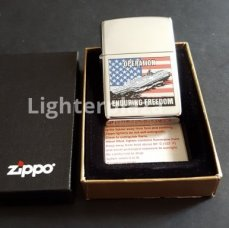 Zippo Operation Enduring Freedom - High Polish Chrome. Gratis verzending binnen Nederland.