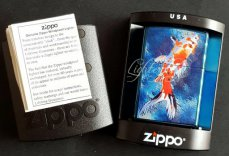 Zippo lighter Orange Fish